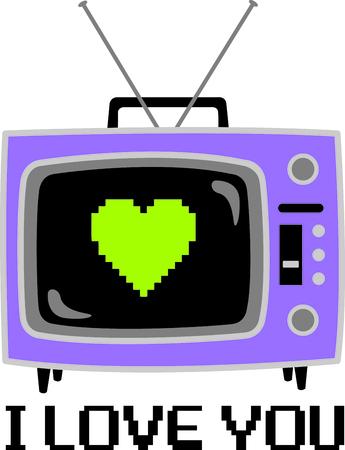Krijg dit beeld TV set voor uw volgende ontwerp.