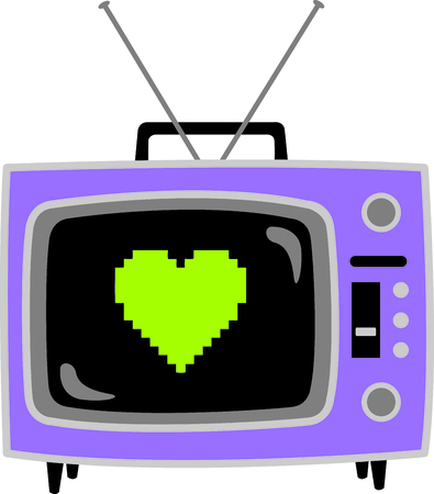 Get this tv set image for your next design. Ilustração