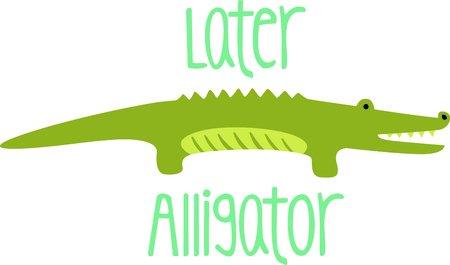 Get this alligator image for your next design.