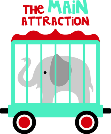 Get this circus elephant image for your next design.