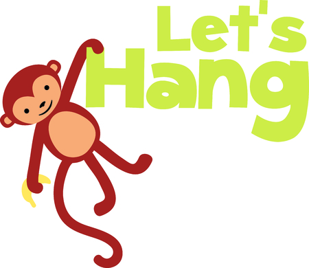 critter: Get this monkey image for your next design.