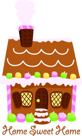 gingerbread cake: Get this house image for your next design.