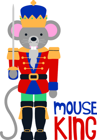 mouse: Get this nutcracker image for your next design.