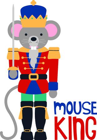 myszy: Pobierz ten obraz dziadka do orzechów dla następnego projektu. Ilustracja