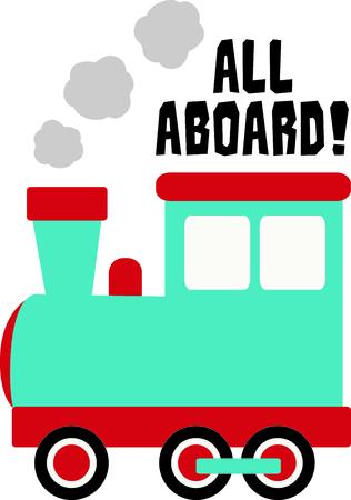 Get this circus train image for your next design. Ilustração