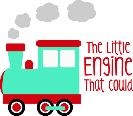 Get this circus train image for your next design. Vectores