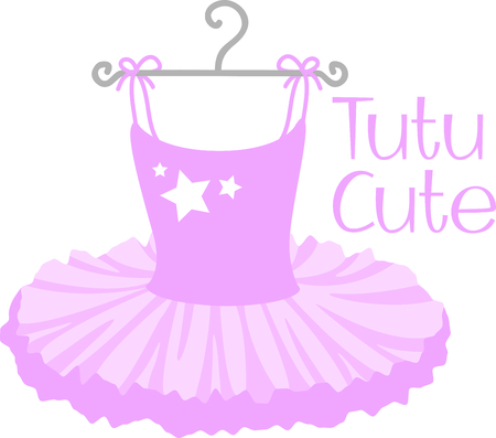 skirt: Get this ballerina image for your next design.