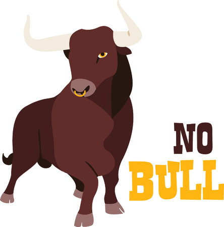 Grab the bull by the horns with this design from Hopscotch.