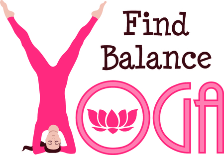 Find your balance and your light with yoga.