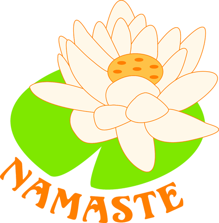 The lotus is a sacred Buddhist symbol.