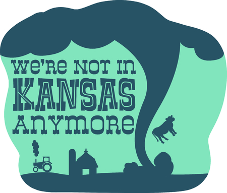 silos: This Kansas twister wont do any damage.  But will look great with your designs.