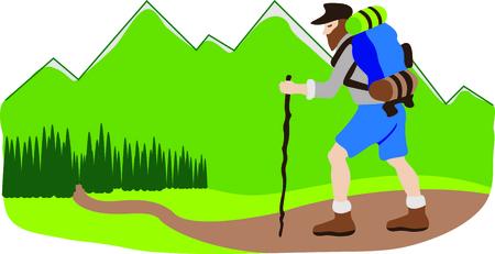 Virginie-Occidentale est un bel endroit pour faire de la randonnée. Cette image sera parfaite pour votre conception. Banque d'images - 43783446