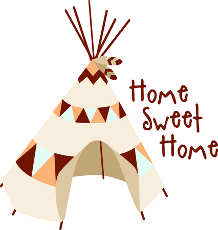 southwest: A teepee is the perfect design for your Southwest theme.  Get this image for your next design.