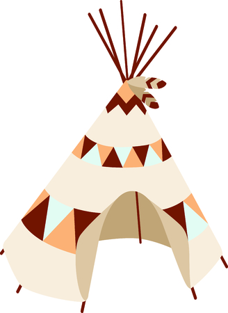 teepee: A teepee is the perfect design for your Southwest theme.  Get this image for your next design.