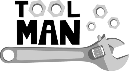adjustable: This wrench image is the perfect image for your next design.  Perfect for the handyman working on the honeydo list.