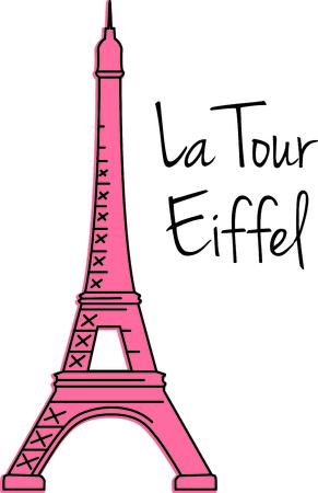 このイメージでパリに家族旅行を覚えています。 あなたの次のデザインに最適です。