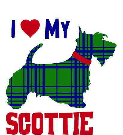 bred: Celebre su herencia exhibiendo esta linda Terrier escoc�s.