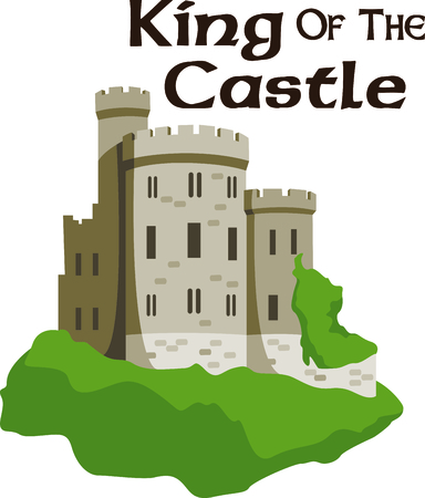 Celebrate your heritage by displaying this beautiful castle.