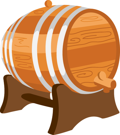 Celebrate your heritage by displaying this scotch keg.