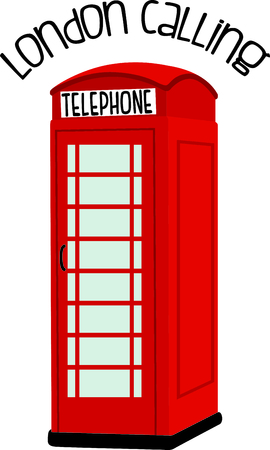 telephone box: Remember that family trip to England with this image.  Perfect for your next design.