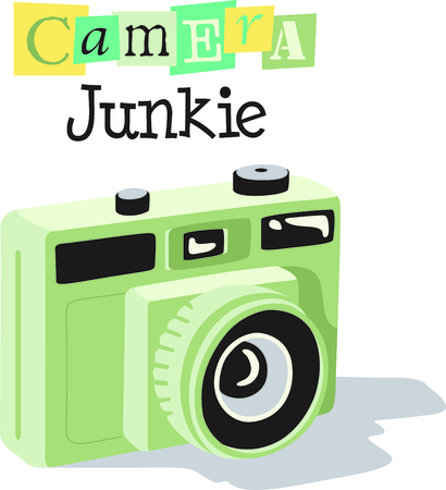 yearbook: Lights, camera, action!  See your future photographers in action.  Give them this to wear to practices, everyone will love it!