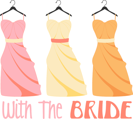 bridesmaid: Planning a bridal shower is so much fun.  Give the couple a special shirt to wear while they prepare for the special day.  They will love it!