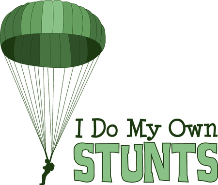 airborne: Let them know you are proud of your paratrooper.  Show support for our troops with this special design.