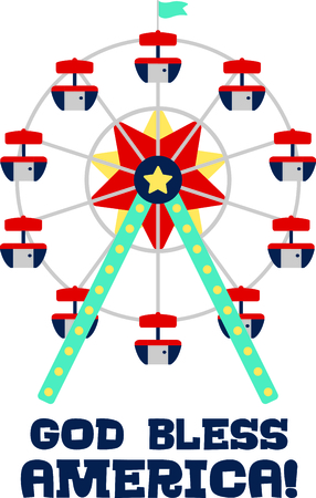 observing: Get this circus ferris wheel image for your next design.