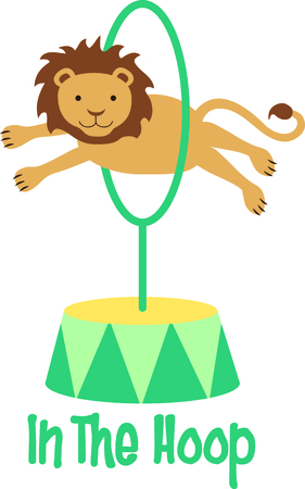 trained: Get this circus lion image for your next design.