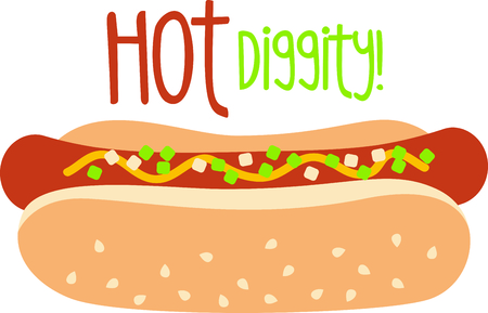 sesame seed: Get this circus hot dog image for your next design. Vettoriali