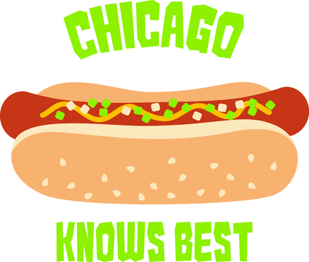 sesame seed: Get this circus hot dog image for your next design. Illustration
