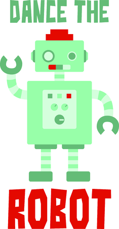 operating system: Little boys love to play with robots.  Use this design to make a perfect gift.