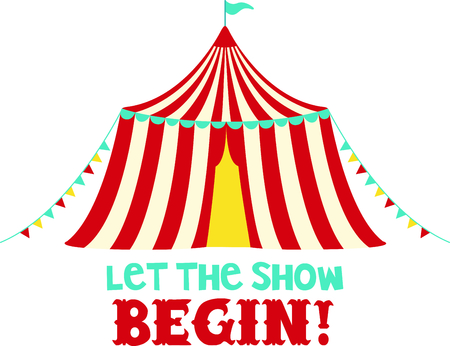 big top tent: Get this circus tent image for your next design.