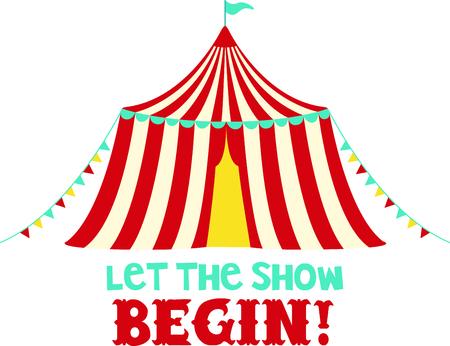 Laden Sie dieses Bild Zirkuszelt für Ihren Entwurf. Standard-Bild - 43843020