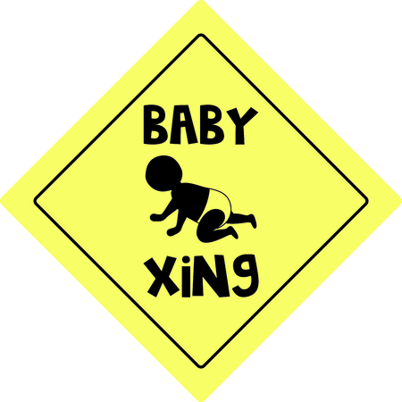 xing: Planning a baby shower will not be complete without this adorable design.  Add it to your favorite items for party favors.  They will love it! Illustration