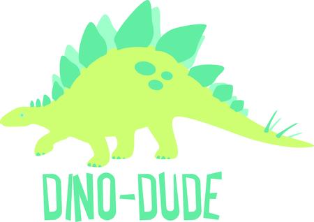 あなたの子供のデザインの恐竜のこのイメージを使用します。  イラスト・ベクター素材