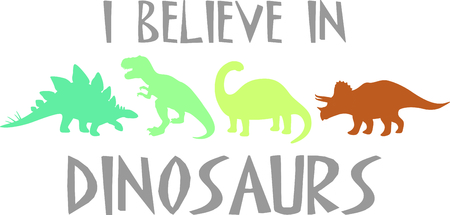 cartoon t rex: Use this image of a dinosaur in your childs design. Illustration