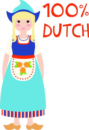 Remember the trip to Holland with this little Dutch girl.