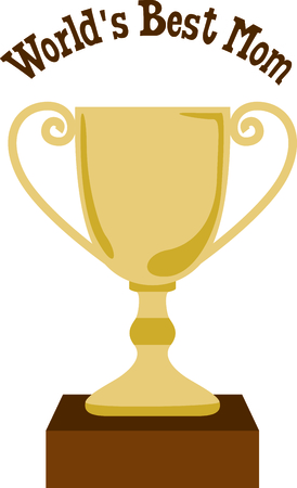 Use this image of a trophy in your design. Çizim