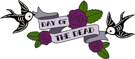 Versieren voor Halloween met enge skelet. Stock Illustratie