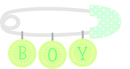 closure: Planning a baby shower will not be complete without this adorable design.  Add it to your favorite items for party favors.  They will love it! Illustration