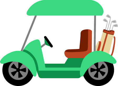 motorized: Golf is a great past time sport to enjoy playing with a group or on your own.