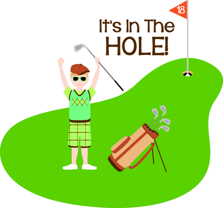 putting green: Golf is a great past time sport to enjoy playing with a group or on your own.