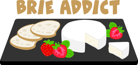 appetizer: Get this great appetizer tray image for your catering business. Illustration