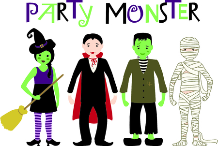 ghouls: Decorate for Halloween with scary Frankenstein.