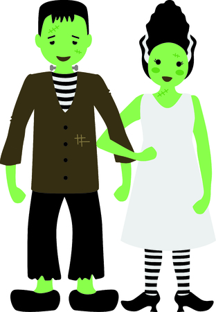 frankenstein: Decorate for Halloween with scary Frankenstein.