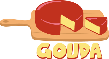 gouda: Get this great cheese image for your catering business.