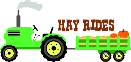 tractor image to your next design. 向量圖像