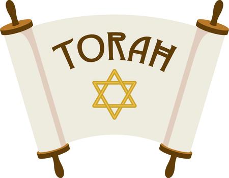 torah scroll: Celebrate your faith with these open Torah scrolls.