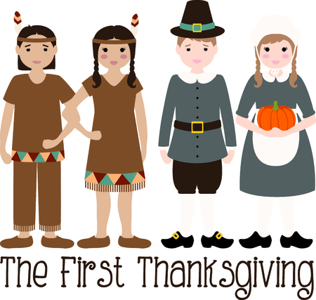 pilgrim costume: Give these adorable gifts at your Thanksgiving feast.
